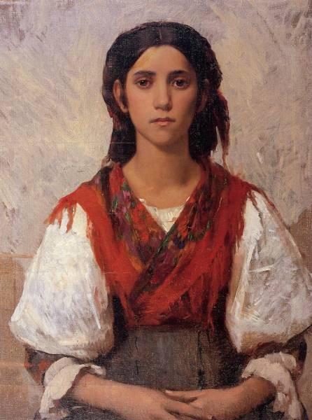 Frank Florentine Flower Girl